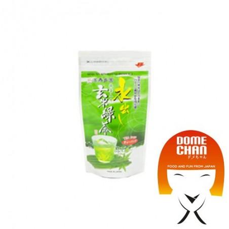 Genmaicha (green tea with puffed rice) in filters - 75 gr Mizudashi AXM-33572364 - www.domechan.com - Japanese Food
