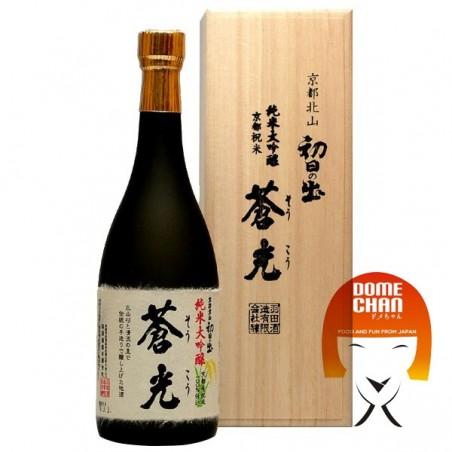 Souci hatsuhinode soukou Junmai Daiginjo - 720 ml Haneda Shuzo BAW-89377753 - www.domechan.com - Nourriture japonaise