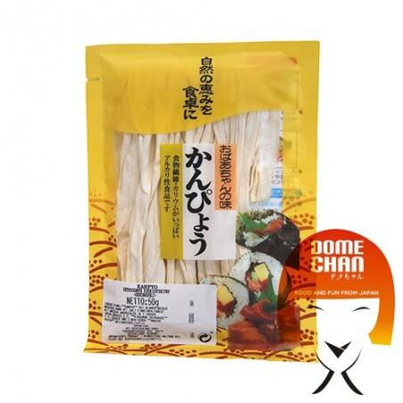 Kanpyo zucca - 50 gr Momoya CDW-37282644 - www.domechan.com - Prodotti Alimentari Giapponesi
