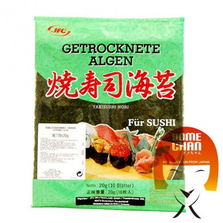 Alga yakinori classe verde - 30 gr JFC CGW-97432772 - www.domechan.com - Prodotti Alimentari Giapponesi