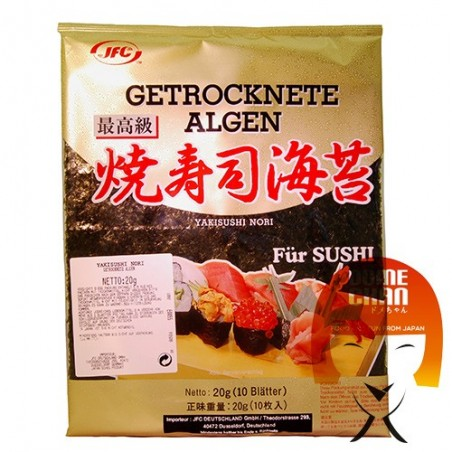 Alga yakinori classe oro - 30 gr JFC CGY-26899293 - www.domechan.com - Prodotti Alimentari Giapponesi