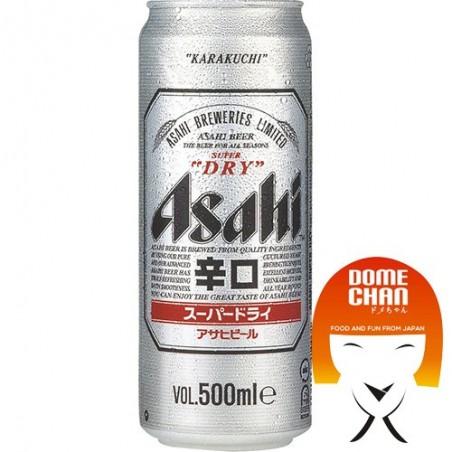 Beer super dry asahi in cans - 500 ml Asahi CQW-55496363 - www.domechan.com - Japanese Food
