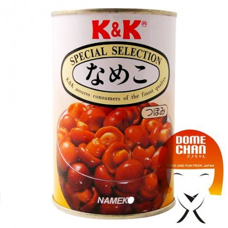 Pilzen nameko - 400 gr K&K CYY-97274756 - www.domechan.com - Japanisches Essen