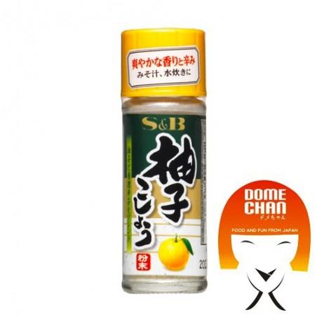 Yuzu et poivre vert - 12 g S&B CUW-69283374 - www.domechan.com - Nourriture japonaise
