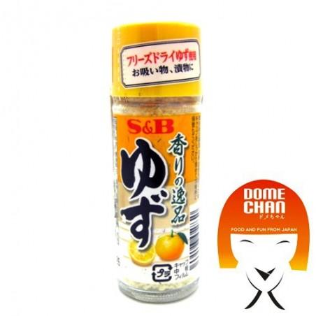 Yuzu powder - 4.5 gr S&B DEY-44338464 - www.domechan.com - Japanese Food