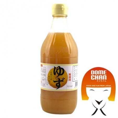 Yuzu-Saft - 500 ml Oita DNW-55456886 - www.domechan.com - Japanisches Essen