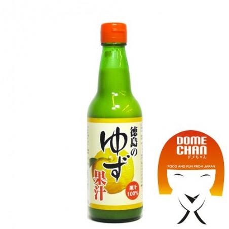 Succo di yuzu - 360 ml Tokushima ADY-89736229 - www.domechan.com - Prodotti Alimentari Giapponesi