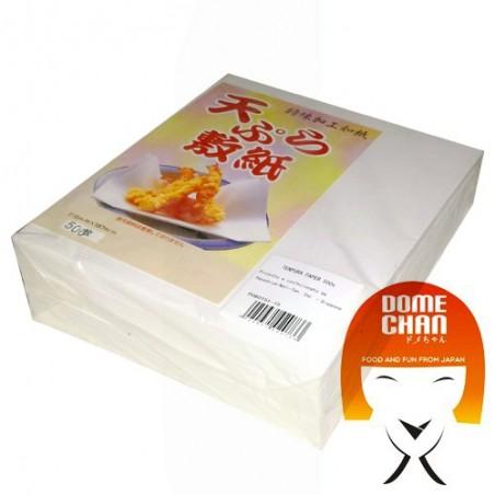 Papier absorbant pour frit - 500 ff Domechan DSY-79389334 - www.domechan.com - Nourriture japonaise