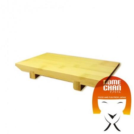 Tavola in legno per sushi e sashimi giapponese S Uniontrade HX-2V5Y-N97T - www.domechan.com - Prodotti Alimentari Giapponesi