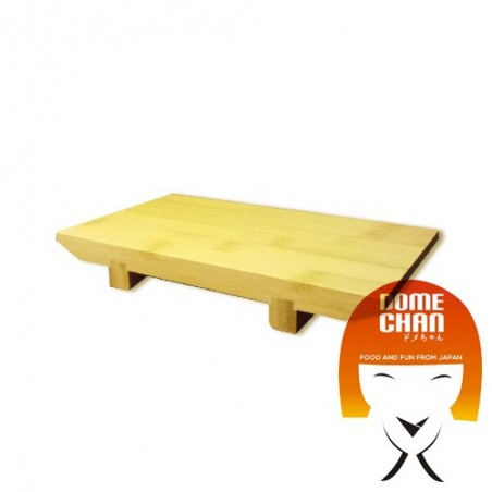 Wooden board for Japanese sushi and sashimi S Uniontrade HX-2V5Y-N97T - www.domechan.com - Japanese Food