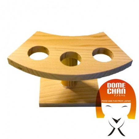 Wooden temaki door base - 16 cm Marte ETB-79448587 - www.domechan.com - Japanese Food