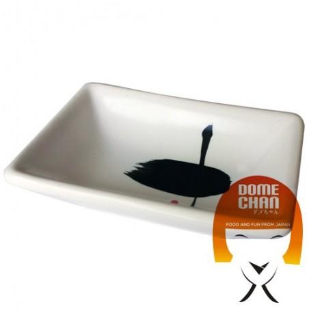 The bowl port, soy sauce, white - 9,5x5,5 cm Uniontrade EUW-92522684 - www.domechan.com - Japanese Food