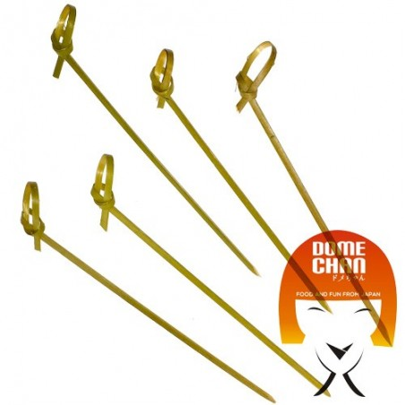 Curled bamboo skewers - 9 cm Uniontrade FFY-56994384 - www.domechan.com - Japanese Food