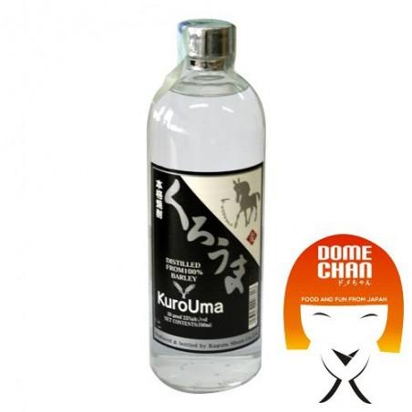 Shochu mugi kurouma - 750 ml Kagura Shuzo CJQ-13457302 - www.domechan.com - Japanese Food