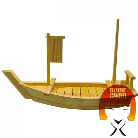 Holzboot für Sushi und Sahimi 70 cm Uniontrade CF-TEW6-578H - www.domechan.com - Japanisches Essen