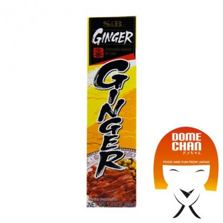 Ginger paste - 40 g S&B FXV-36872938 - www.domechan.com - Japanese Food