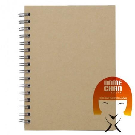 Notebook A6 Havanna Muji GEW-59378469 - www.domechan.com - Japanisches Essen