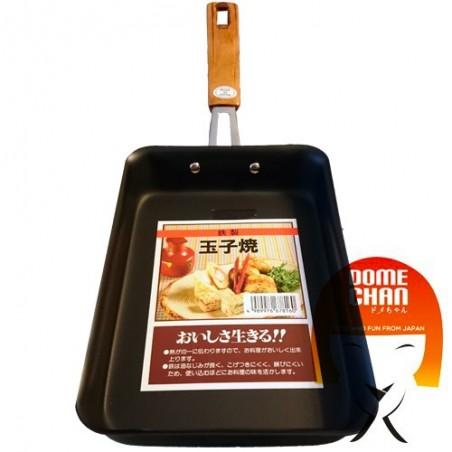 Padella tamago antiaderente rettangolare Domechan GRL-68358469 - www.domechan.com - Prodotti Alimentari Giapponesi