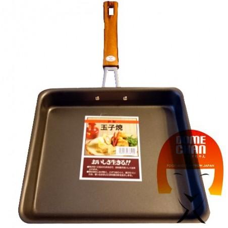 Quadratische Antihaft Tamago Pfanne Domechan GQY-74355455 - www.domechan.com - Japanisches Essen