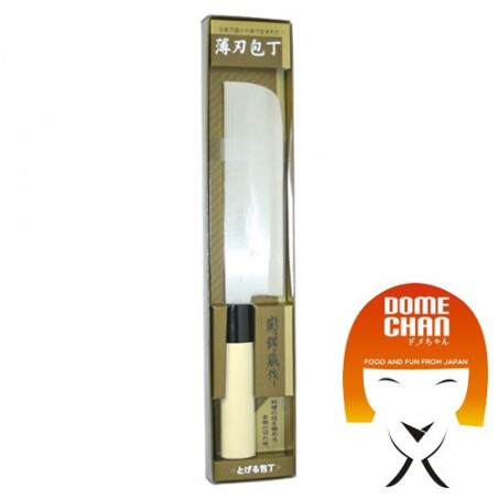 Coltello sumikama usuba - 17 cm Domechan GZB-39348489 - www.domechan.com - Prodotti Alimentari Giapponesi