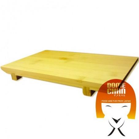 Tavola in legno per sushi e sashimi giapponese XL Uniontrade HBY-27287567 - www.domechan.com - Prodotti Alimentari Giapponesi