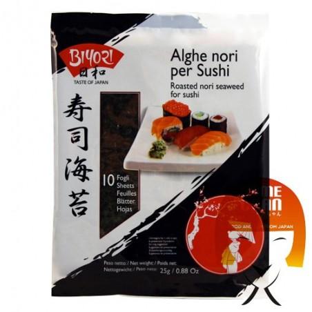 Alga nori byori - 25 gr Nantong Haida HCY-25963472 - www.domechan.com - Prodotti Alimentari Giapponesi