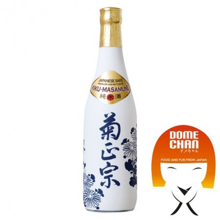 Sake Kiku Masamune junmai - 500 ml Kiku Masamune HMW-97627768 - www.domechan.com - Japanese Food