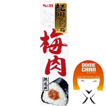 Plums in bainiku paste in tube - 40 g S&B AEW-27236882 - www.domechan.com - Japanese Food