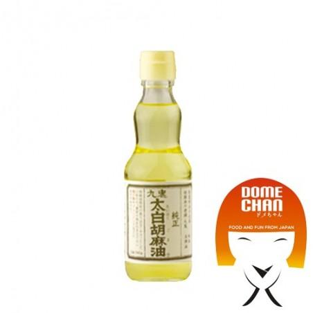 Olio di sesamo puro extra chiaro (Taihaku) - 170 g Kuki HWW-87839338 - www.domechan.com - Prodotti Alimentari Giapponesi