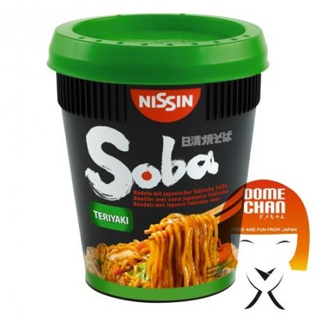 Yakisoba nissin teriyaki Geschmack - 90 g Nissin HYY-55423573 - www.domechan.com - Japanisches Essen