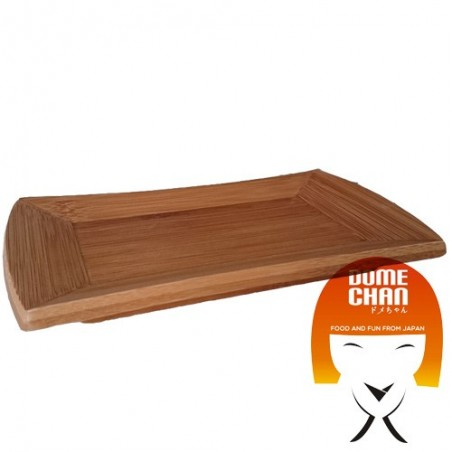 Wooden board for sushi and curved sashimi Uniontrade JDW-34742793 - www.domechan.com - Japanese Food