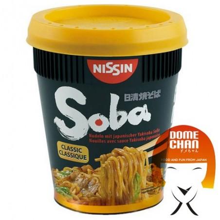 Yakisoba nissin classic taste - 90 g Nissin HZP-74432446 - www.domechan.com - Japanese Food
