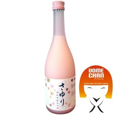 Sake sayuri nigori - 720 ml Hakutsuru CMY-37536388  - www.domechan.com - Prodotti Alimentari Giapponesi