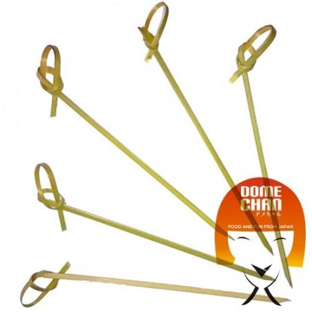 Curled bamboo skewers - 12 cm Uniontrade JJW-88649777 - www.domechan.com - Japanese Food