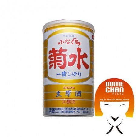 Sake funaguchi kikusui ichiban shibori - 200 ml Kikusui JKW-72497643 - www.domechan.com - Prodotti Alimentari Giapponesi