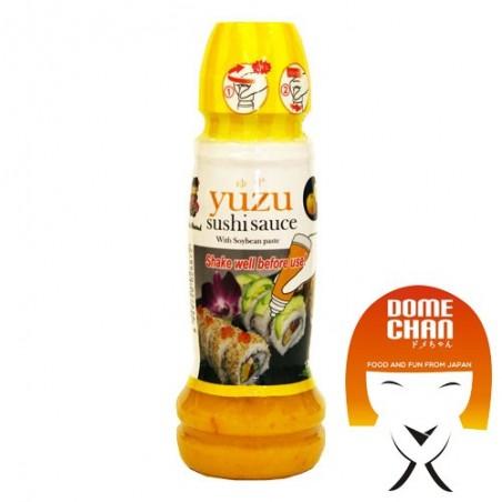 Salsa allo yuzu per sushi - 210 gr Miyasaka JMY-74464697 - www.domechan.com - Prodotti Alimentari Giapponesi
