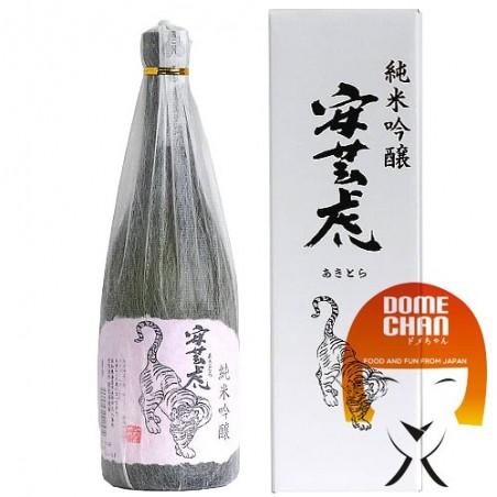 Sake akitora junmai ginjo - 720 ml Arimitsu JPB-63457987 - www.domechan.com - Japanese Food