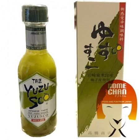 Yuzusco salsa al peperoncino e allo yuzu - 75 ml Takahashi Shoten JUW-42439923 - www.domechan.com - Prodotti Alimentari Giapp...