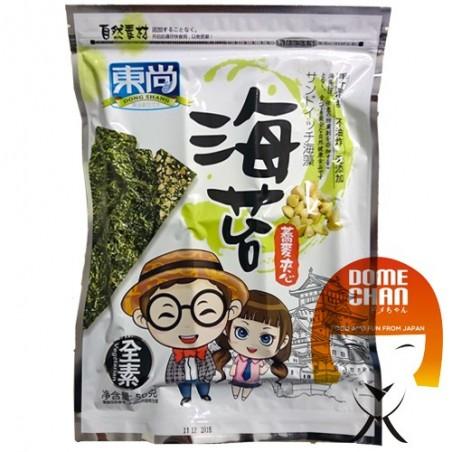Snack sandwich di alghe al grano saraceno e sesamo - 50 g Dong Shang JYY-88925562 - www.domechan.com - Prodotti Alimentari Gi...