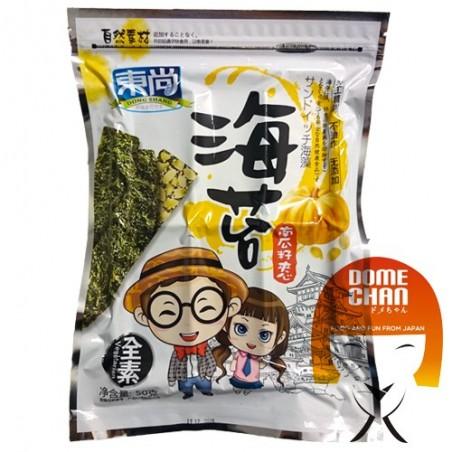 Snack-Sandwiches aus Algen und Kürbiskernen - 50 g Dong Shang JZV-24622923 - www.domechan.com - Japanisches Essen