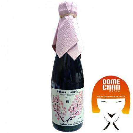 Birra aromatizzata ai fiori di ciliegio - 375 ml OWA Brewery KAY-94659793 - www.domechan.com - Prodotti Alimentari Giapponesi