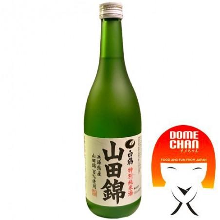 Sake tokubetsu junmai Yamadanishiki - 720 ml Hakutsuru KCY-24534398 - www.domechan.com - Prodotti Alimentari Giapponesi