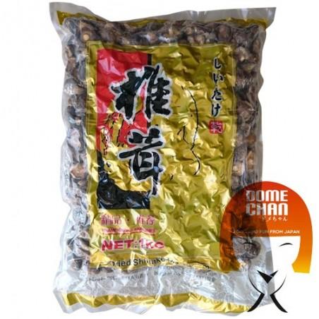 Dried shiitake mushrooms - 1 kg Hube Hotekfood KDY-44632332 - www.domechan.com - Japanese Food