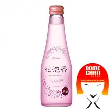Sake. Hana Awaka - 250 ml Ozeki KEY-36524549 - www.domechan.com - Japanese Food