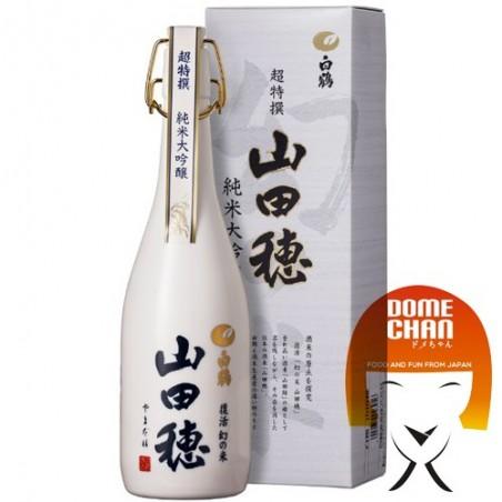 Hakutsuru Premium Sake Junmai Dai-Ginjo Yamada-Ho - 720ml Hakutsuru KNY-96329978 - www.domechan.com - Japanese Food