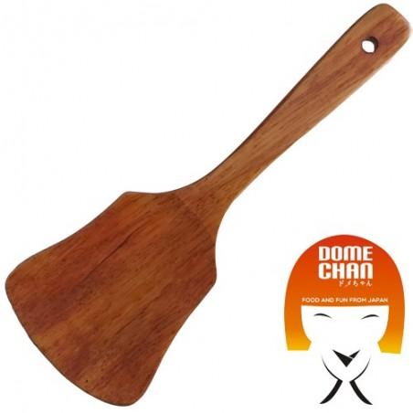 Espátula de madera - 23 cm Uniontrade KPG-62599352 - www.domechan.com - Comida japonesa