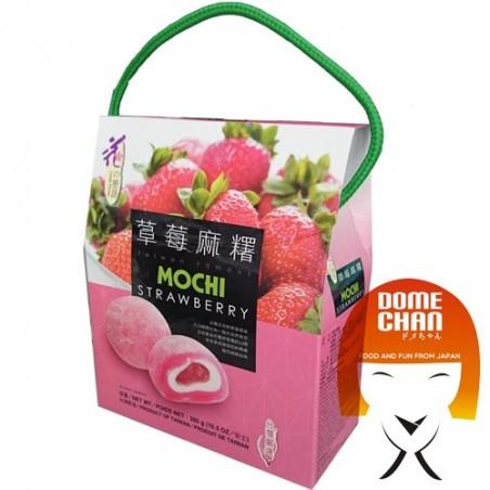 Mochi alla fragola - 300 gr World-wide co LAW-57733533 - www.domechan.com - Prodotti Alimentari Giapponesi