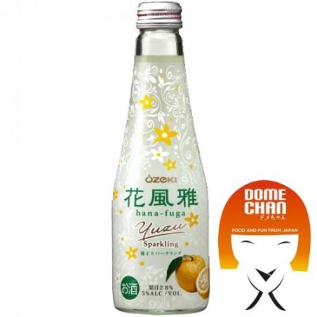 Sake gassed hana fuga - 250 ml Ozeki LBW-97756629 - www.domechan.com - Japanese Food