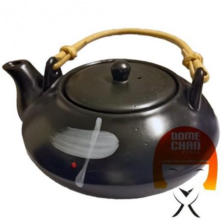 Teapot oriental black made hand - Type III Uniontrade LDY-94484758 - www.domechan.com - Japanese Food