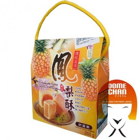 Mochi ananas - 250 g World-wide co LFY-45264367 - www.domechan.com - Nourriture japonaise